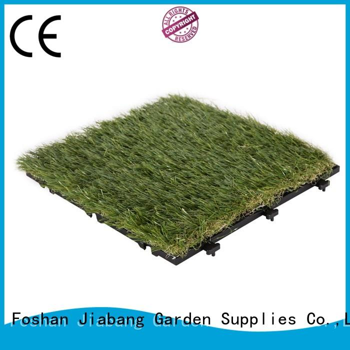JIABANG outdoor wood tiles on grass hot-sale for garden