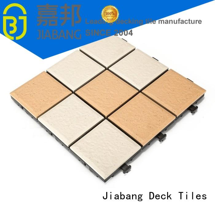 JIABANG hot-sale outdoor porcelain tile deck exterior for garden