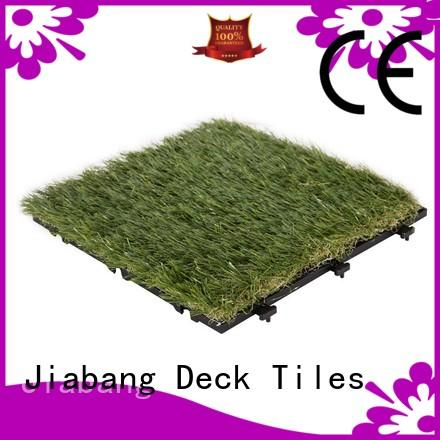 JIABANG flooring fake grass squares hot-sale for garden