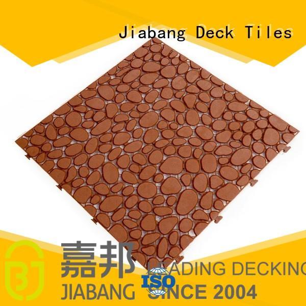Quality JIABANG Brand yellow black non slip bathroom tiles