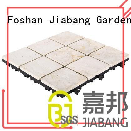 snap tile travertine deck tiles JIABANG Brand