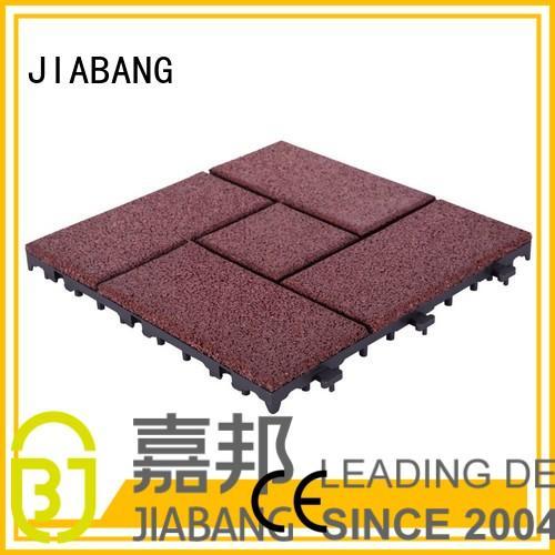 soft together OEM interlocking rubber mats JIABANG
