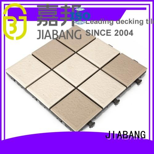 interlocking Custom ceramic outdoor ceramic tile garden JIABANG