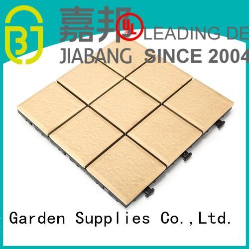 JIABANG Brand decking jj01 ceramic garden tiles paver