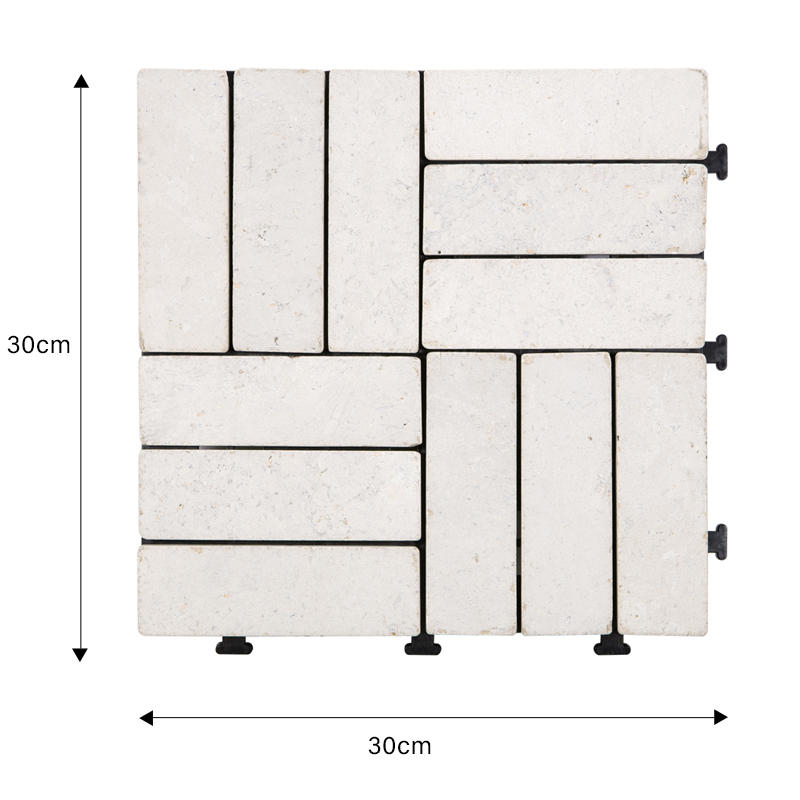JIABANG interlocking travertine tile outdoor use outdoor from travertine stone-1