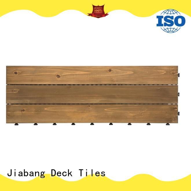 JIABANG interlocking hardwood deck tiles chic design wooden floor