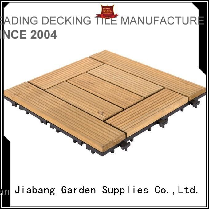 JIABANG interlocking interlocking wood decking diy wood for balcony
