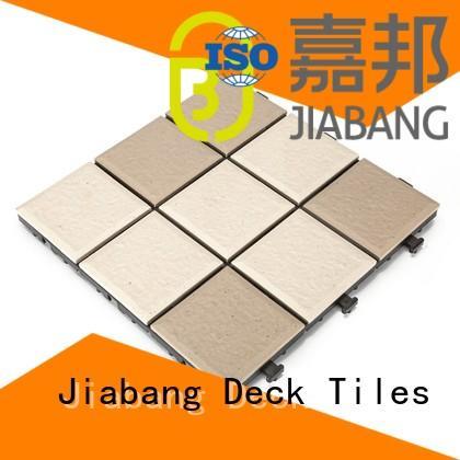 stsd outdoor office JIABANG Brand ceramic interlocking tiles manufacture