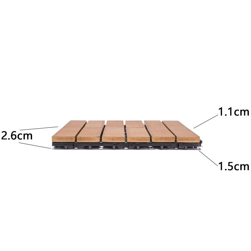 JIABANG light-weight outdoor plastic tiles popular home decoration-3