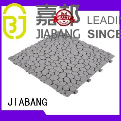 hot-sale plastic interlocking patio tiles non-slip for customization