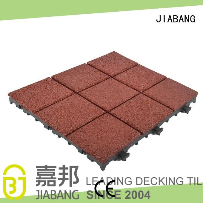 JIABANG composite rubber mat tiles low-cost house decoration