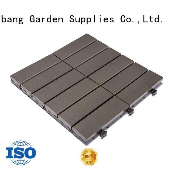 JIABANG plastic garden tiles anti-siding gazebo decoration