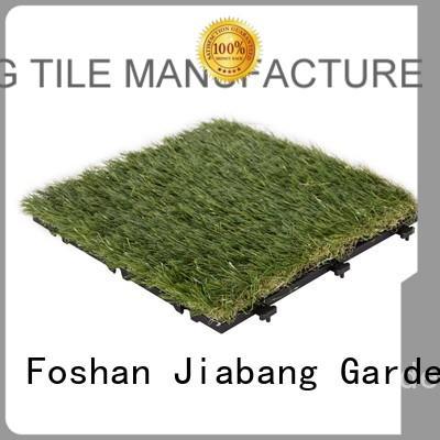 outdoor grass tiles chic design for garden JIABANG