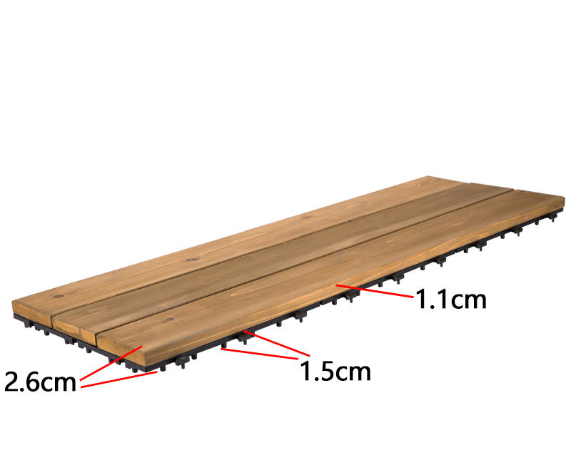 JIABANG refinishing hardwood deck tiles wood deck for balcony-3