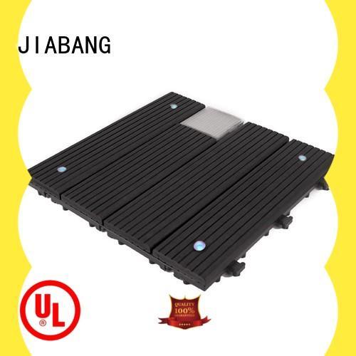 JIABANG wpc balcony deck tiles protective ground