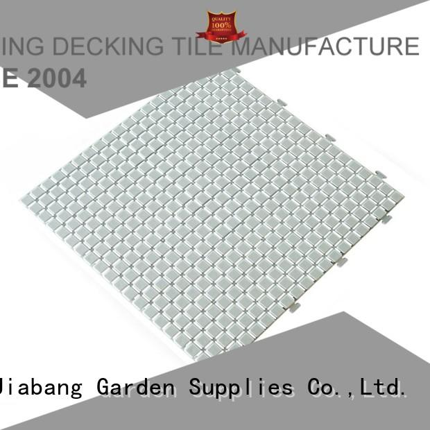 recycled plastic deck tiles top-selling for customization