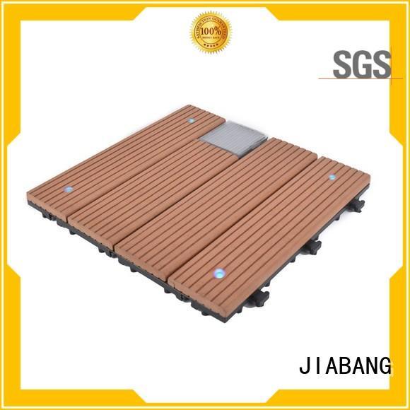 JIABANG led snap together deck tiles protective garden lamp