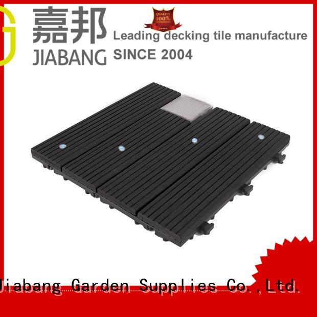 JIABANG eco-friendly balcony deck tiles highly-rated garden lamp