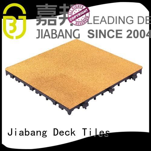JIABANG Brand interlocking rubber playground tiles rubber factory