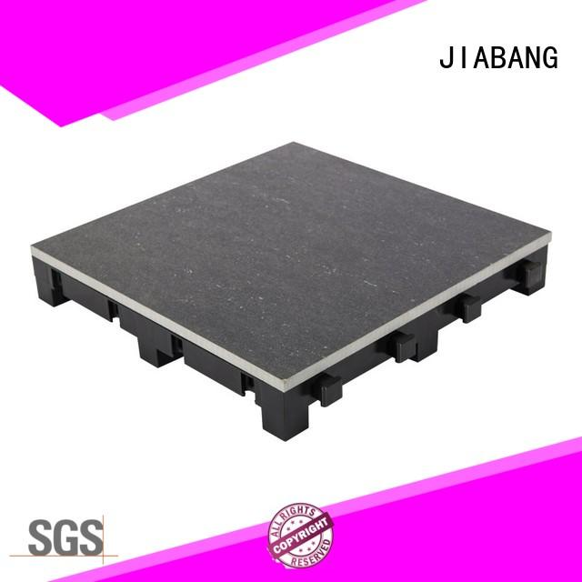 JIABANG interlocking porcelain deck tiles construction building material