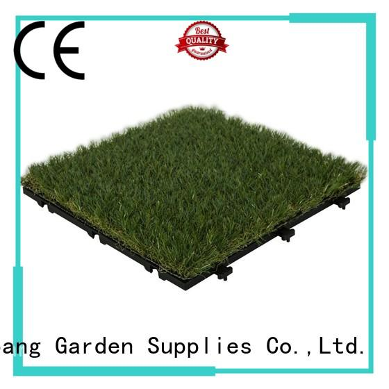 top-selling deck tiles on grass landscape path building