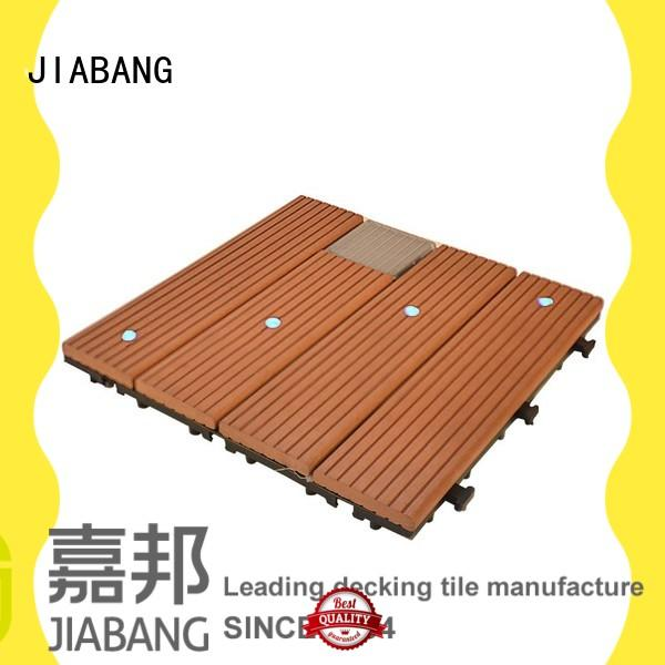 JIABANG high-quality snap together deck tiles highly-rated garden lamp