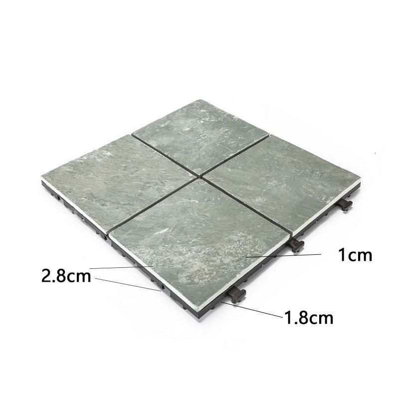 Outdoor natural interlocking slate stone tile online JBT003-3