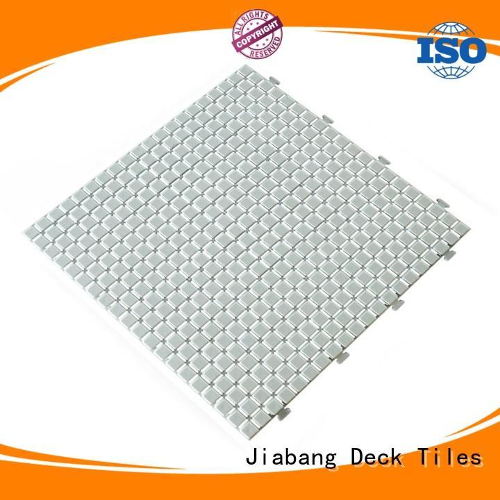 JIABANG protective outdoor plastic deck tiles bathroom floor kitchen flooring
