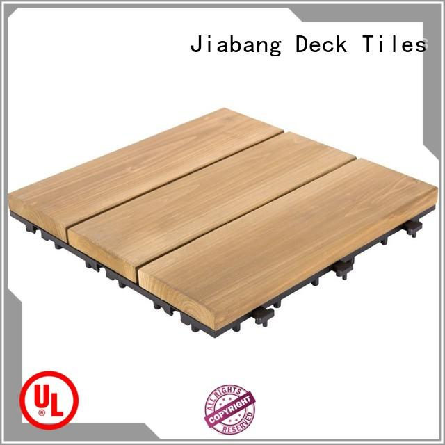 adjustable wooden decking squares natural long size wooden floor