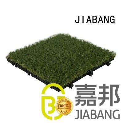 JIABANG hot-sale grass tiles at discount balcony construction
