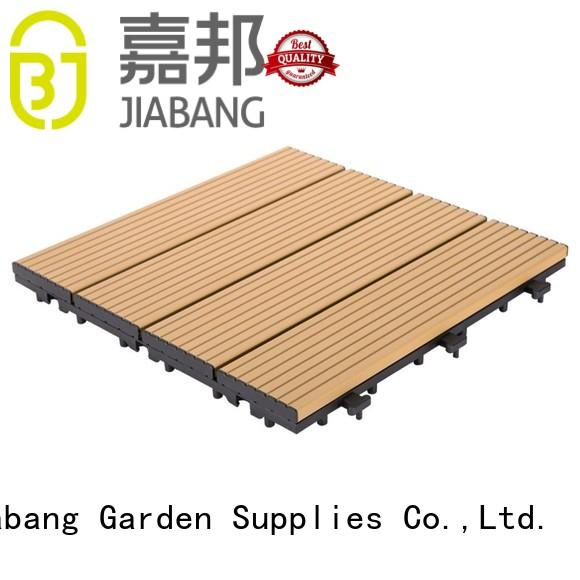 modern interlocking deck and patio tiles universal for customization JIABANG