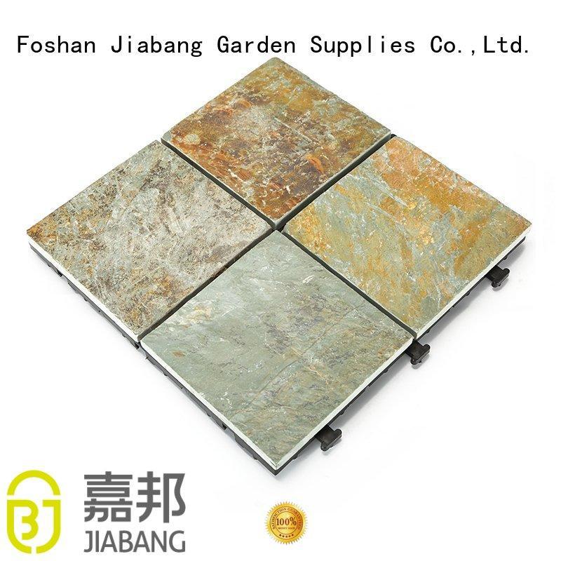 JIABANG diy real stones exterior slate tile floor decoration floors building