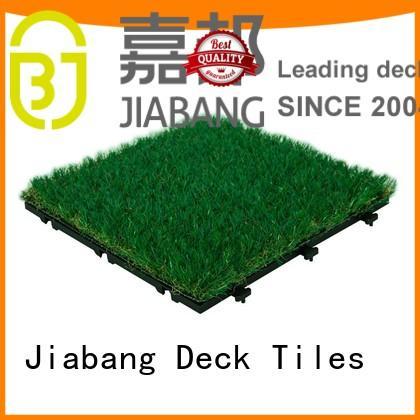 JIABANG wholesale grass tiles balcony construction
