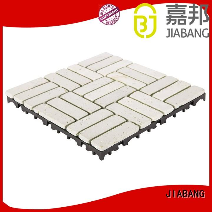 JIABANG limestone travertine pool pavers at discount from travertine stone
