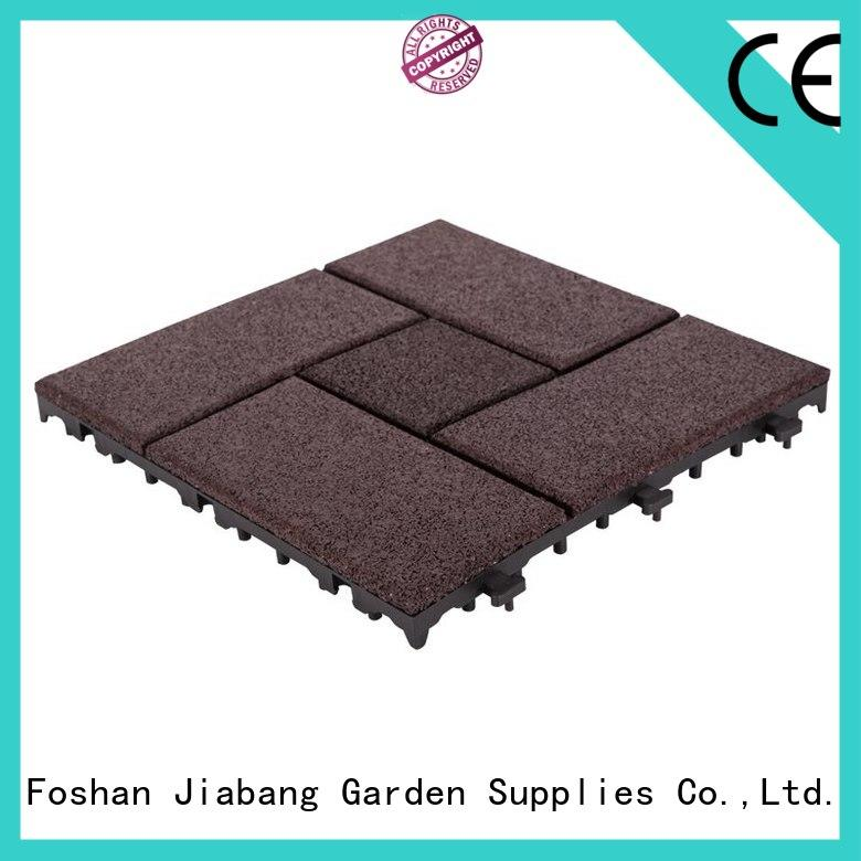 JIABANG hot-sale rubber gym tiles low-cost for wholesale