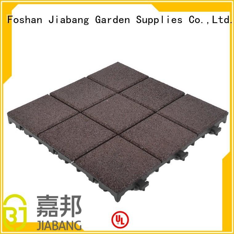 JIABANG Brand rubber direct soft custom rubber mat tiles