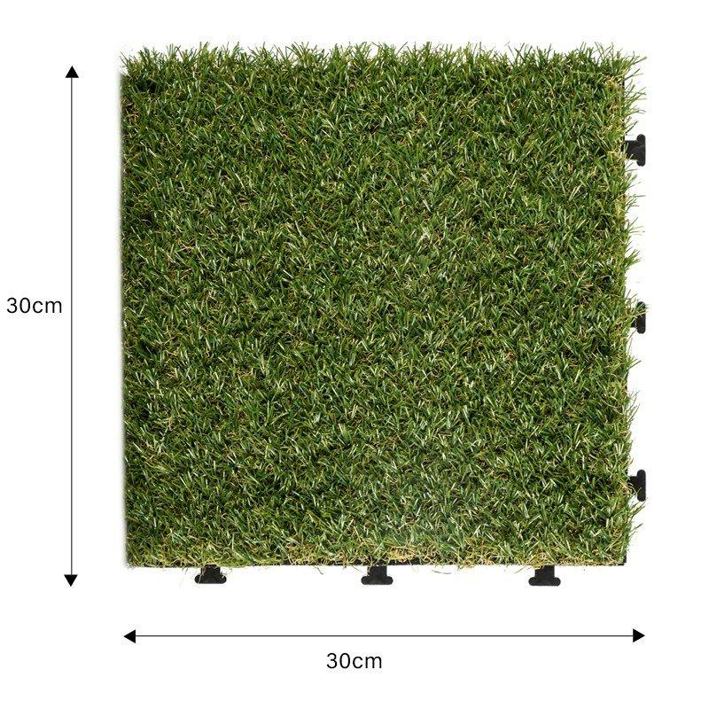 JIABANG fake grass squares easy installation for garden-1
