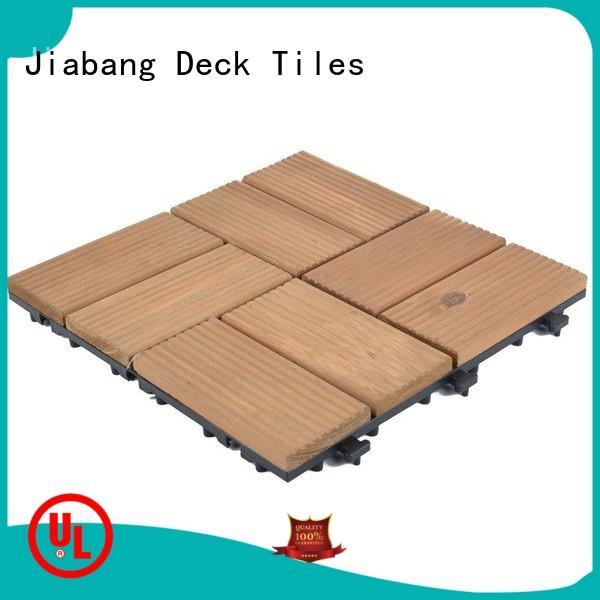 JIABANG refinishing hardwood deck tiles chic design for garden