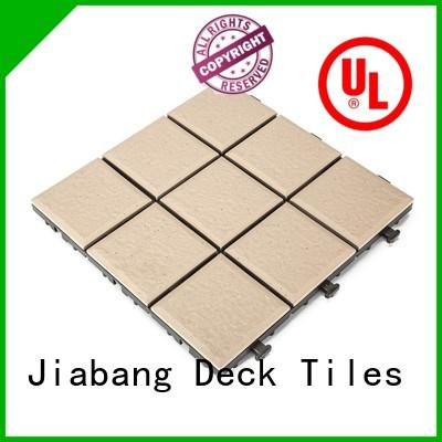 JIABANG interlocking exterior ceramic tile cheapest factory price for garden