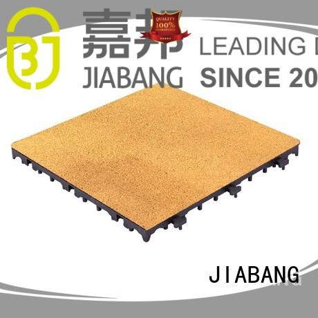 rubber square tiles rubber JIABANG Brand rubber playground tiles