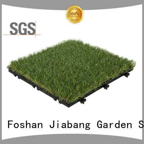 JIABANG hot-sale artificial grass tiles artificial grass garden decoration