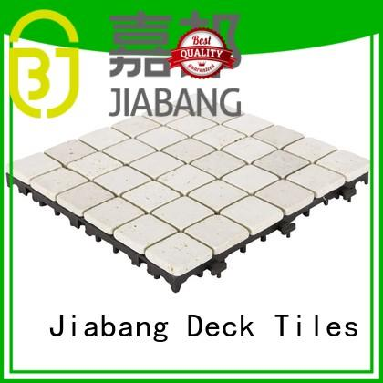 JIABANG hot-sale travertine floor tile high-quality for garden decoration
