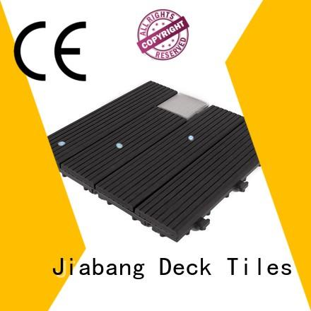 JIABANG patio deck tiles wpc home