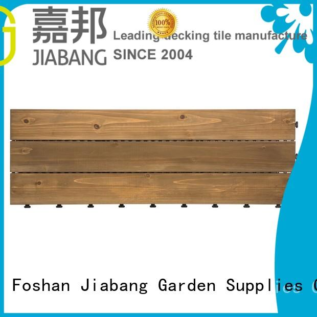 adjustable wooden decking squares long size for balcony