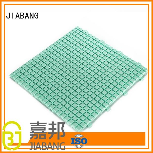 JIABANG decorative plastic patio flooring tile flooring for wholesale