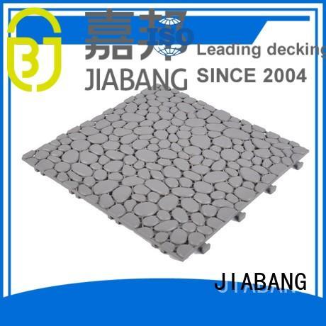 deck plastic pink plastic floor tiles outdoor JIABANG Brand