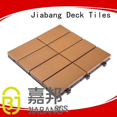plastic gazebo decking deck JIABANG Brand plastic decking tiles supplier