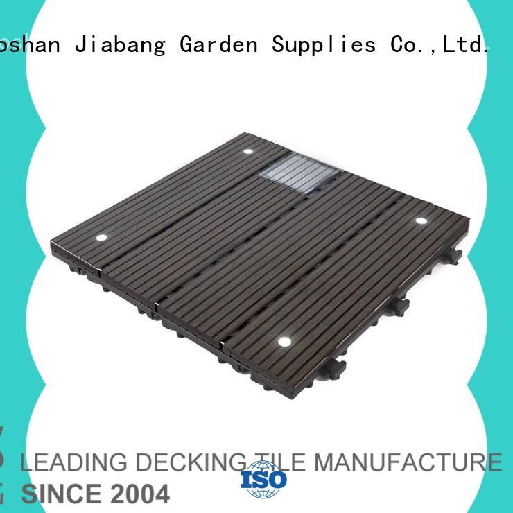 eco-friendly square decking tiles decorative ground JIABANG