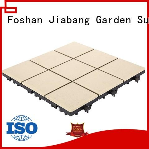 JIABANG stow outdoor porcelain floor tile at discount for garden
