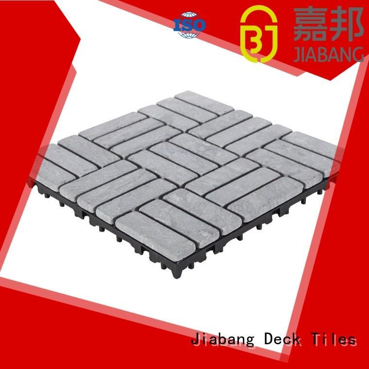 JIABANG Brand easy natural 12x12 travertine deck tiles